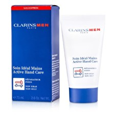 Clarins Men Active Hand Cream 75ml/2.6oz