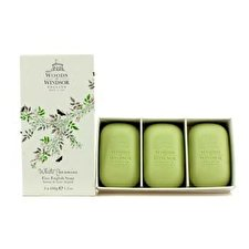 Woods Of Windsor White Jasmine Fine English Soap 3x100g/3.5oz