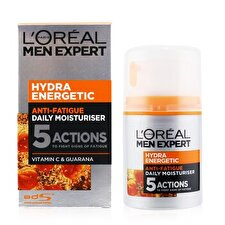 L'Oreal Men Expert Hydra Energetic Daily Anti-Fatigue Moisturising Lotion 50ml/1.6oz