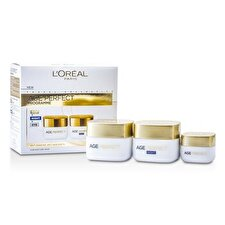 L'Oreal Age Perfect Programme: Day Cream + Eye Cream + Night Cream 3pcs