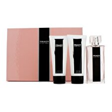 Ellen Tracy Tracy Coffret: Eau De Parfum Spray 75ml/2.5oz + Loción Corporal 100ml/3.4oz + Gel deDucha 100ml/3.4oz 3pcs