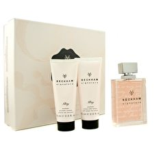 David Beckham Signature Story For Her Coffret: Edt Spray 75ml/2.5oz + Body Lotion 75ml/2.5oz + Shower Cream 75ml/2.5oz 3pcs