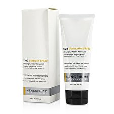 Menscience TiO2 Sun Block SPF 30 Waterproof 100ml/3.4oz