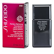 Shiseido Perfect Refining Foundation SPF15 - # B60 Natural Deep Beige 30ml/1oz