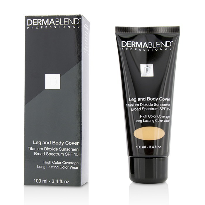 Leg & Body Cover SPF 15 (Full Coverage & Long Wearability) - Caramel 100ml/3.4oz - Product Image