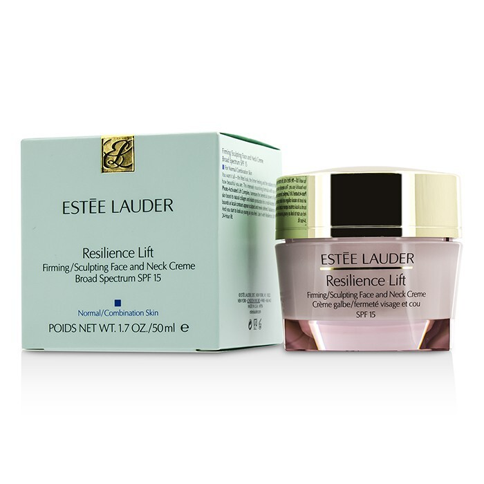 estee lauder resilience lift firming sculpting face and neck creme spf 15 normal combination. Black Bedroom Furniture Sets. Home Design Ideas