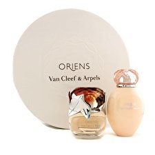 Van Cleef & Arpels Oriens Coffret: Eau de Parfum Spray 50ml/1.7oz + Body Lotion 150ml / 5 Unzen (Round Box) 2 Stück