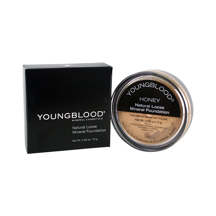 Youngblood Natural Loose Mineral Foundation - Honey 10g | Cosmetics Now Australia