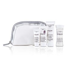 Payot Absolute Pure White Kit: Lotion 30 ml + Mousse Clarte 25ml + Clarte Du Jour 15ml + Concentre Anti-soif Clarte 10ml 4pcs