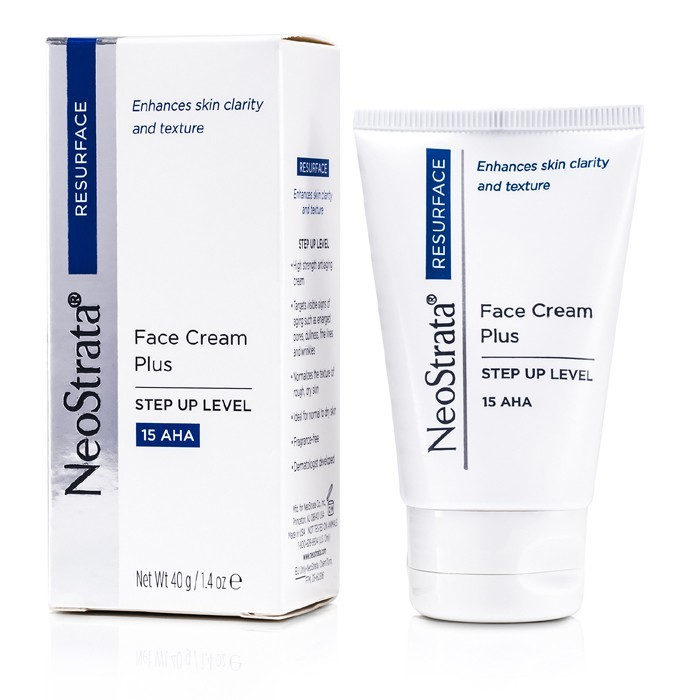 neostrata resurface face cream plus step up level 15 aha 40g cosmetics now us. Black Bedroom Furniture Sets. Home Design Ideas