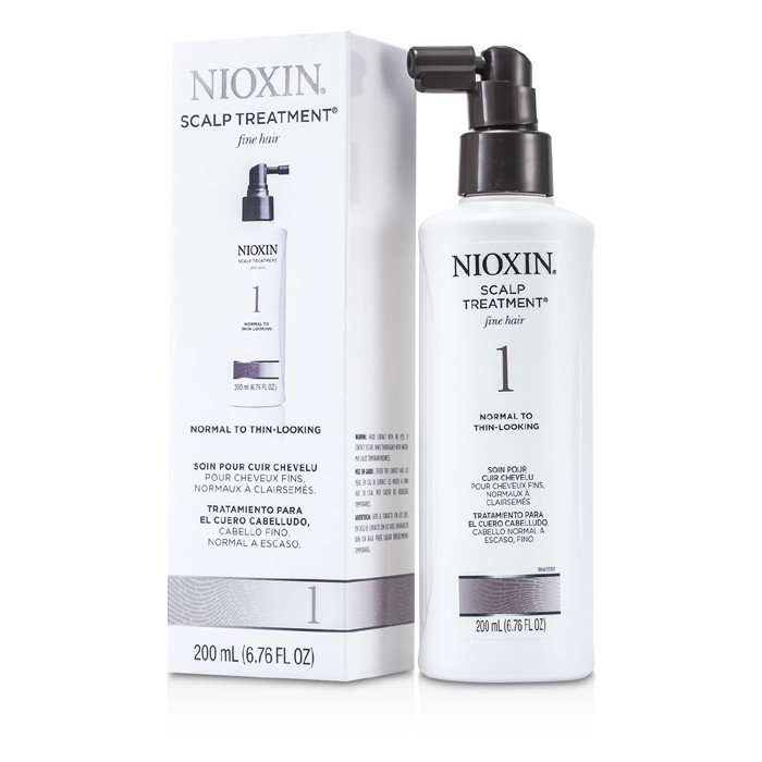 Nioxin System 1 Scalp Treatment For Fine Hair Normal To