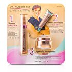 Dr Robert Rey Sensual Solutions Set: Cleanser 45ml + Wrinkle Filler 14.2g + Wrinkle Erase 48g 3pcs
