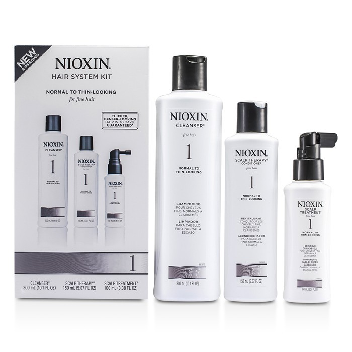 Nioxin System 1 Starter Kit For Fine Hair Normal To Thin