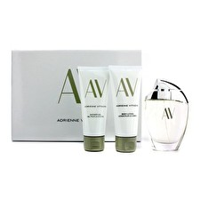 Adrienne Vittadini AV Coffret: Eau De Parfum Spray 90ml/3oz + Crema Corporal 100ml/3.3oz + Gel de Ducha 100ml/3.3oz 3pcs