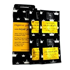 Apivita Express Gold Firming & Regenrating Mask with Royal Jelly 6x(2x8ml)