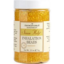 Aromafloria Sinus Help Inhalation Beads Blend Of Eucalyptus Peppermint Lemongrass 75ml/2.5oz