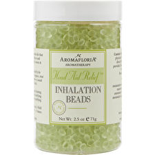 Aromafloria Head Aid Relief Inhalation Beads Blend Of Tea Tree Rosemary And Peppermint 75ml/2.5oz