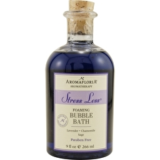 Aromafloria Stress Less Foaming Bubble Bath Blend Of Lavender Chamomile And Sage 266ml/9oz