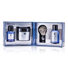 The Art Of Shaving Die 4 Elements Of The Perfect Shave - Ocean Kelp (Pre Shave Gel + Shave crm + A / S Lotion + Pinsel) 4pcs