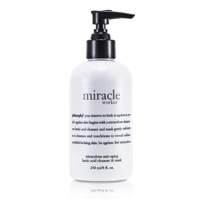 Philosophy Miracle Worker Miraculous Anti Aging Lactic Acid Cleanser Amp Mask 240ml 8oz