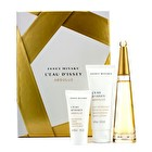 Issey Miyake L'Eau D'Issey Absolue Coffret: Eau De Parfum Spray 50ml/1.6oz + Body Lotion 75ml/2.5oz + Shower Gel 30ml/1oz 3pcs