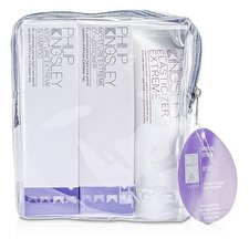 Philip Kingsley Moisture Extreme Jet Set: Shampoo 75ml + Conditioner 75ml + Elasticizer Extreme 75ml 3pcs