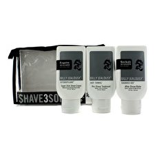 Billy Jealousy Shave3Some: Hydro Super-Slick Shave Cream 88ml + Hot Towel Pre Shave Behandlung 88ml + Rasierte Ice After Shave Balm 103ml 3pcs