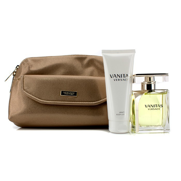 versace vanitas coffret eau de toilette spray 100ml lotion 100ml bag 2pcs 1bag