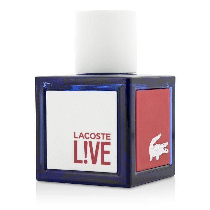 lacoste live eau de toilette spray 40ml cosmetics now uk