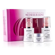 Pevonia Botanica Rosacea Skincare Solution Redness-B-Gone: RS2 Cleanser 50ml/1.7oz + RS2 Lotion 50ml/1.7oz + RS2 Cream 20ml/0.7oz 3pcs