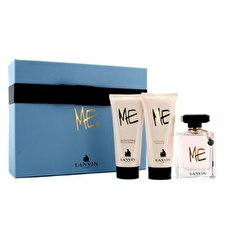 Lanvin Me Coffret: Eau De Parfum Spray 80ml/2.6oz + Body Lotion 100ml/3.3oz + Shower Gel 100ml/3.3oz 3pcs