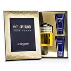 Boucheron Coffret: Eau De Parfum Spray 100ml/3.3oz + 2x Bálsamo Calmante Para Después de Afeitar 50ml/1.6oz 3pcs