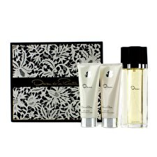 Oscar De La Renta Oscar Coffret: Eau de Toilette Spray 100ml/3.4oz + Body Lotion 100ml / 3,4 Unzen + Körper Badegel 100ml / 3,4 Unzen 3pcs