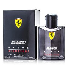 Ferrari Scuderia Black Signature Eau De Toilette Spray 125ml/4.2oz