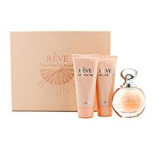 Van Cleef & Arpels Reve Coffret: Eau de Parfum Spray 100ml/3.3oz + Body Lotion 100ml/3.3oz + Duschgel 100 ml / 3,3 Unzen 3pcs