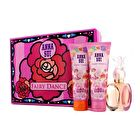 Anna Sui Secret Wish Fairy Dance Coffret: Eau De Toilette Spray 50ml/1.7oz + Body Lotion 90ml/3oz + Shower Gel 90ml/3oz (Flower Box) 3pcs