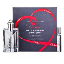 Cartier Declaration d'un Soir Coffret: Eau De Toilette Spray 50ml/1.6oz + Eau De Toilette Spray 9ml/0.3oz 2pcs