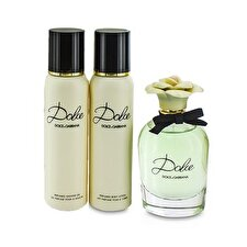 Dolce & Gabbana Dolce Coffret: Eau De Parfum Spray 75ml/2.5oz + Loción Corporal 100ml/3.3oz + Gel de Ducha 100ml/3.3oz 3pcs