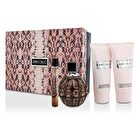 Jimmy Choo Coffret: EDP Spray 100ml/3.4oz + Body Lotion 100ml/3.3oz + Shower Gel 100ml/3.3oz + EDP Roll On 10ml/0.33oz 4pcs