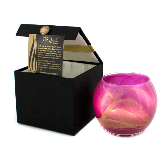 Northern Lights Candles Esque Polished Globe Candle