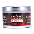 Aroma Naturals Detox-It Allergy Friendly Candle - For The Man Cave 2.8oz