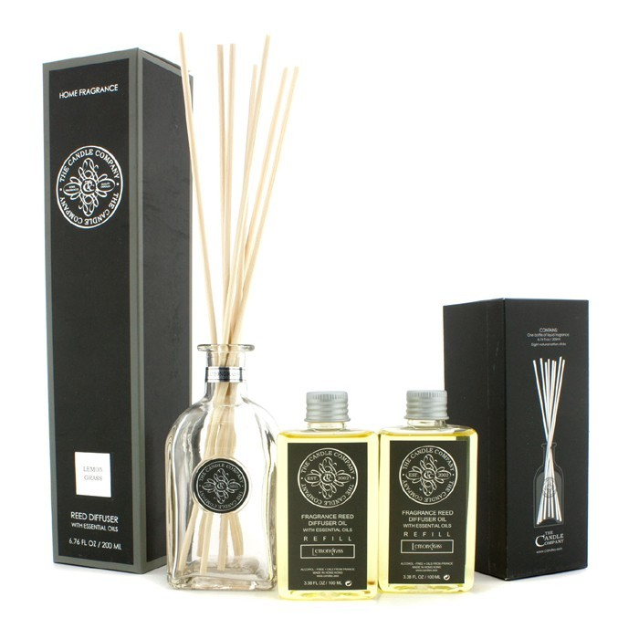 The Candle Company Reed Diffuser With Essential Oils