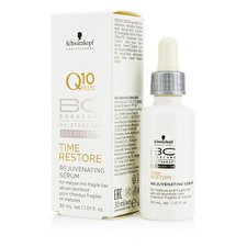 Schwarzkopf Bc Time Restore Q10 Plus Rejuvenating Serum (for Mature And Fragile Hair) 30ml