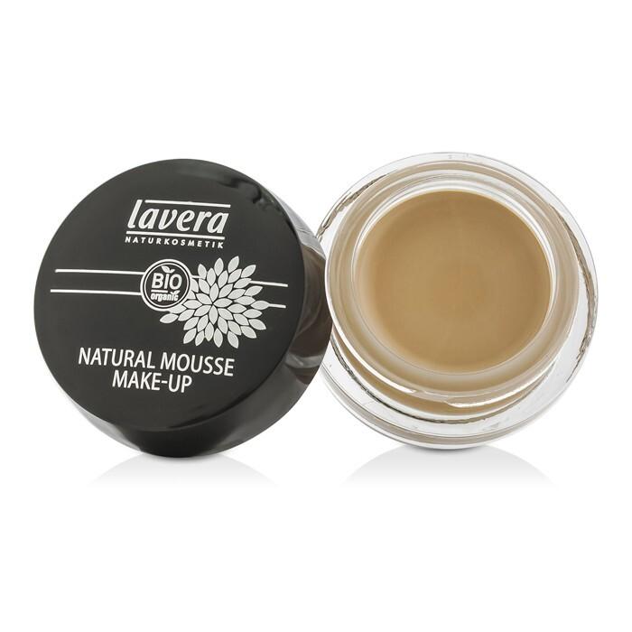 lavera natural mousse make up cream foundation 01 ivory 15g cosmetics now australia. Black Bedroom Furniture Sets. Home Design Ideas
