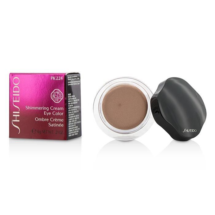 Cream eye makeup