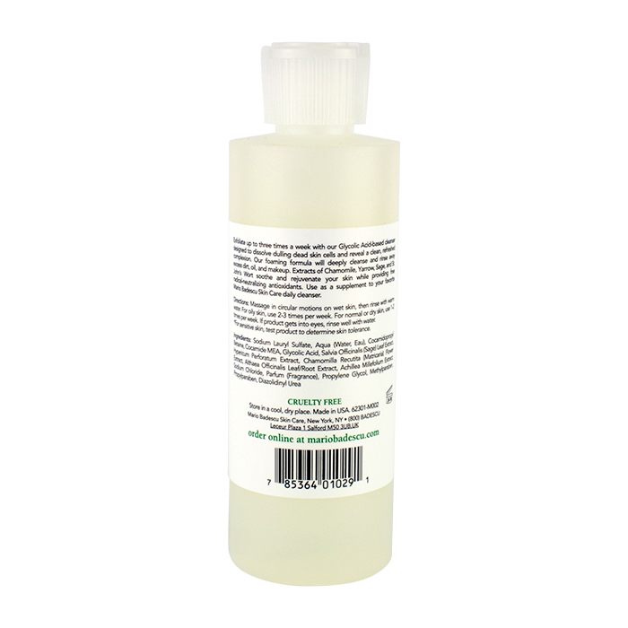 Mario Badescu Glycolic Foaming Cleanser For All Skin Types 177ml 6oz