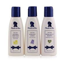 Noodle & Boo Essential Care Kit: Body Wash 59ml/2oz + Shampoo 59ml/2oz + Lotion 59ml/2oz 3pcs