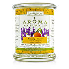 Aroma Naturals 100% Natural Soy Essential Oil Candle - Relaxing (Lavender & Tangerine) 260g/8.8oz