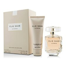 Elie Saab Le Parfum Eau De Parfum Spray 90ml/3oz & Body Lotion 75ml/2.5oz (travel Offer)