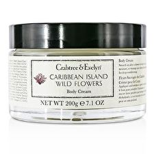 Crabtree & Evelyn Caribbean Island Wild Flowers Crema Corporal 200g/7.1oz